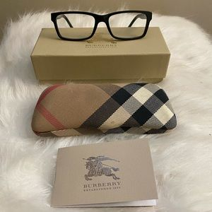 Burberry eyeglasses black frames